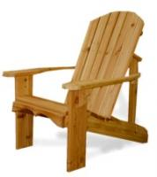 Our Adirondack Chairs and Adirondack furniture features a sculpted seat, and curved back slats for maximum comfort. 